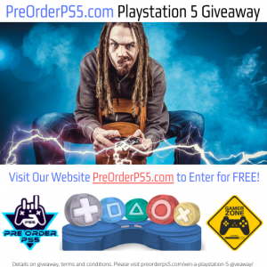 PS5 Free Giveaway